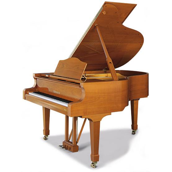 R nisch grand pianos model 175 for Small grand piano size